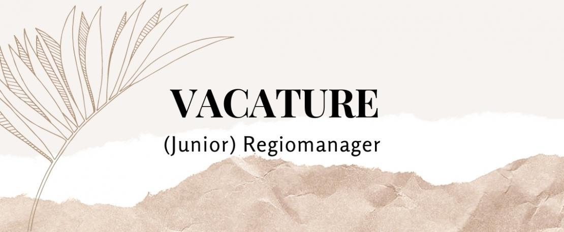 (Junior) Regiomanager 38 uur