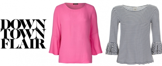 Hot Trend: Flared Sleeves
