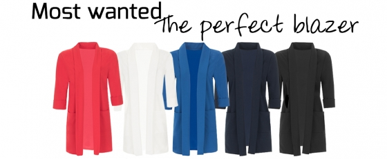 Musthave: The perfect blazer