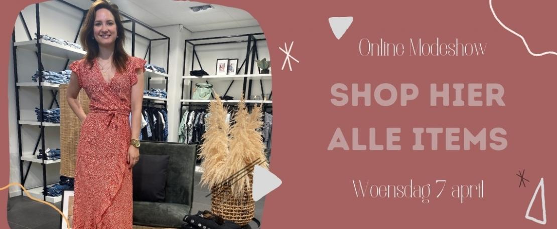 Modeshow woensdag 2 juni