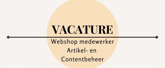 Webshop medewerker Artikel- en Contentbeheer 24-38 uur