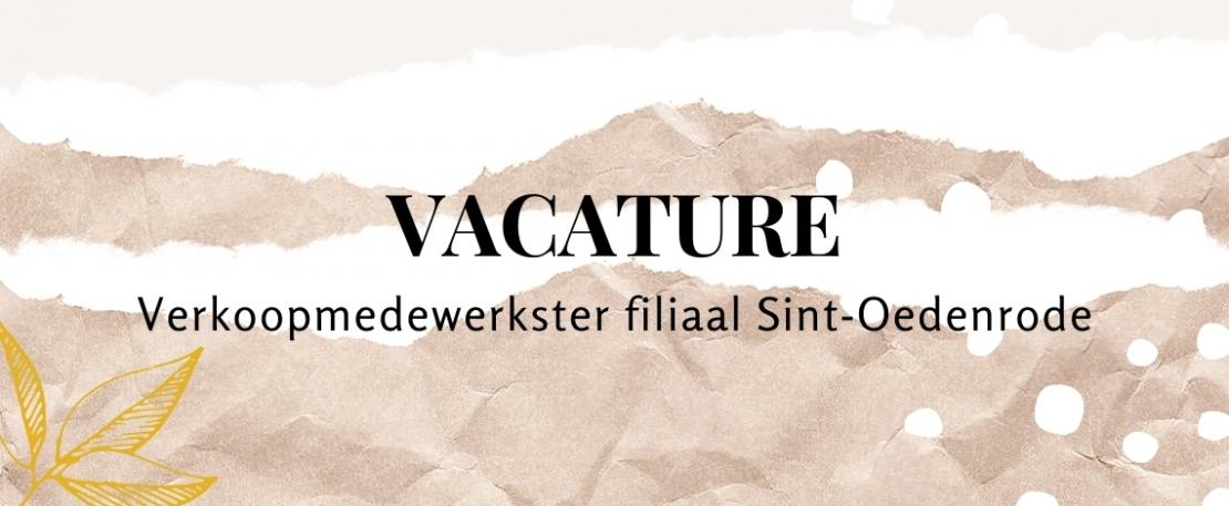 Verkoopmedewerkster Sint-Oedenrode 23 uur