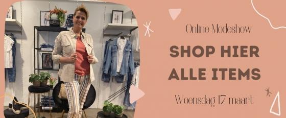 Modeshow woensdag 17 maart