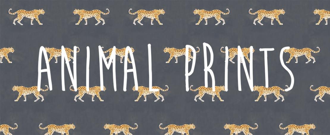 Trend 2018 Animal Prints - It's a Wild World