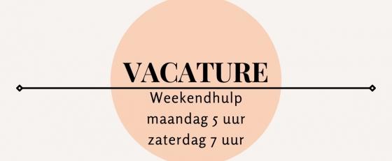 Weekendhulp/oproepkracht Cuijk