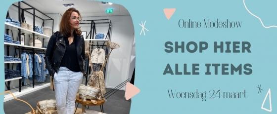 Modeshow woensdag 24 maart