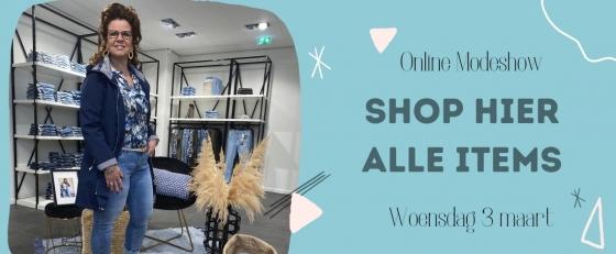 Modeshow woensdag 3 maart