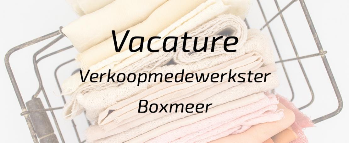 Verkoopmedewerkster Boxmeer 24-38 uur