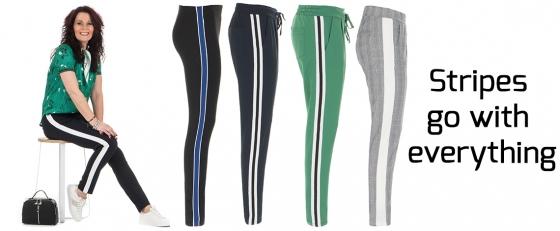Casual Stripes: Pantalons en Sweatpants